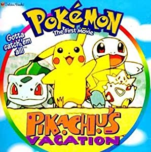 Pokemon The First Movie: Pikachu's Vacation (A Golden Look-Look Book)