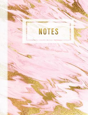Notes: Calligraphy Composition Notebook 8 5x11- Large Blank