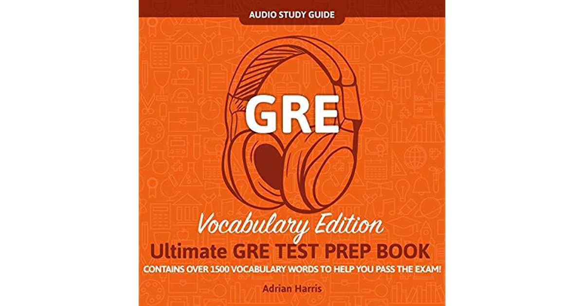 Gre Study Book >> Gre Audio Study Guide Vocabulary Edition Contains Over
