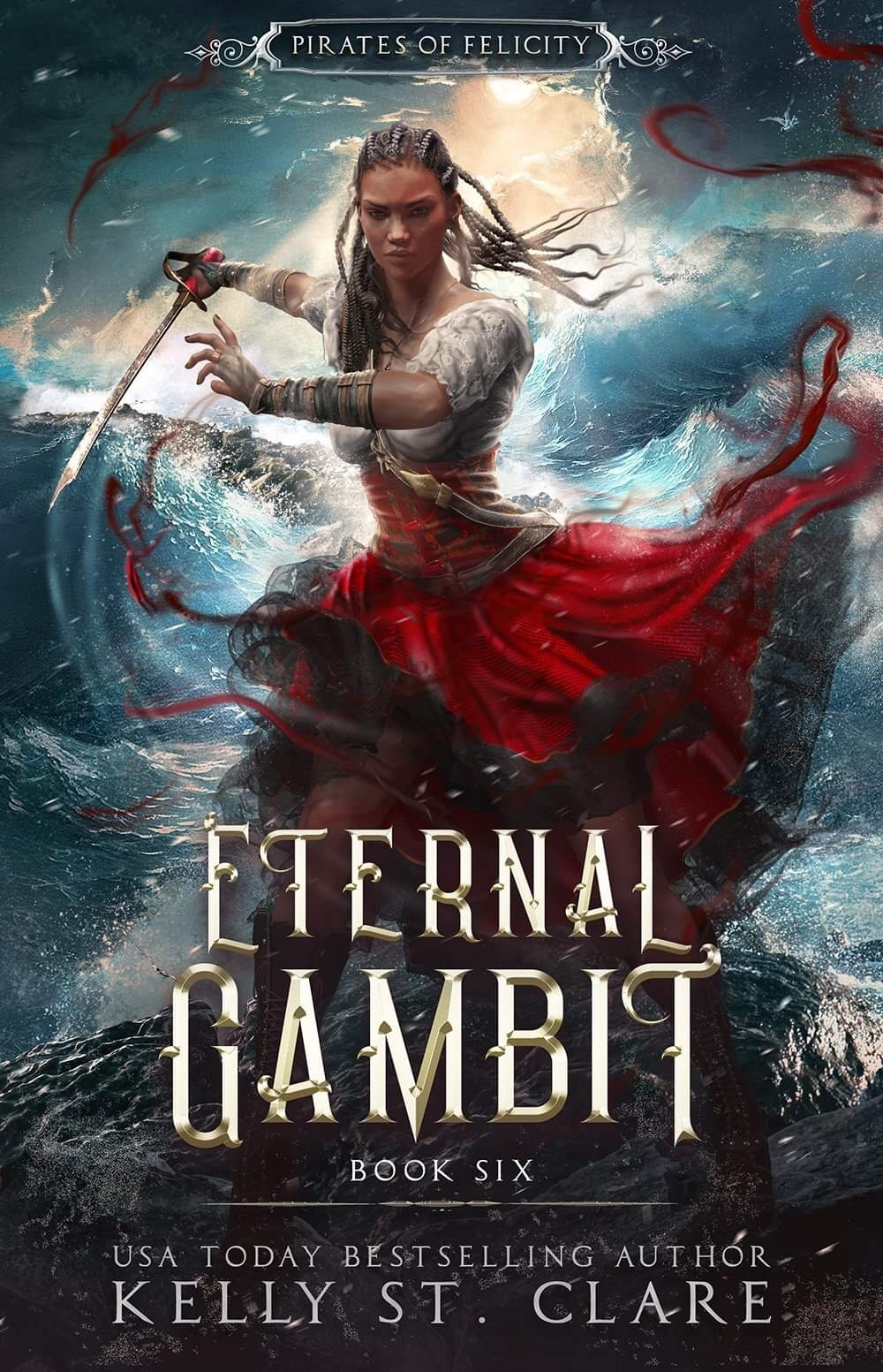 Kelly St. Clare - Pirates of Felicity 6 - Ebba-Viva Fairisles Eternal Gambit