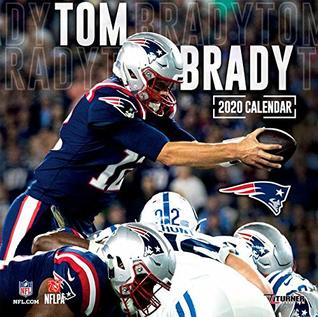 2020 New England Patriots New England Patriots Tom Brady 2020 Calendar by Inc. Lang Companies