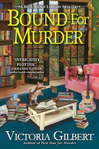 Bound for Murder (Blue Ridge Library Mysteries, #4)