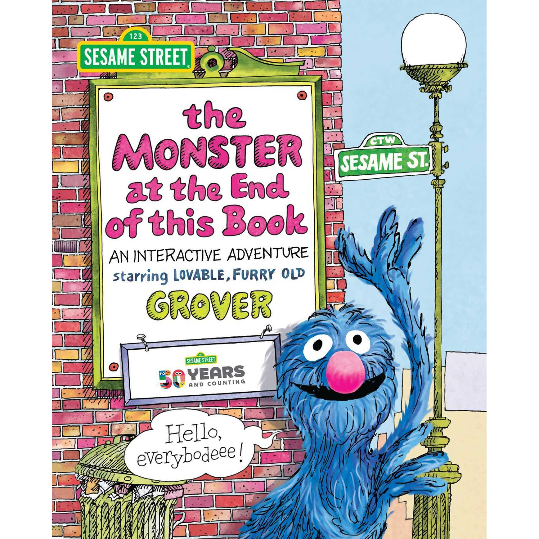 Sesame Street The Monster At The End Of This Book An