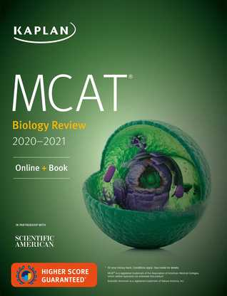 MCAT Biology Review 2020-2021: Online + Book
