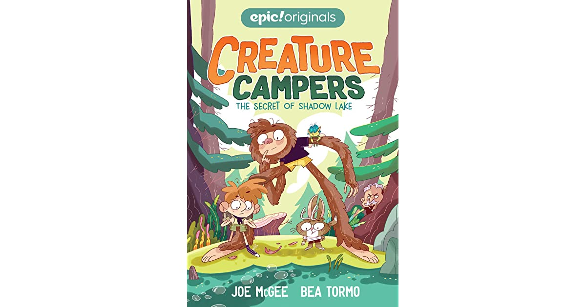 The Secret Of Shadow Lake Creature Campers Book 1 By Joe Mcgee