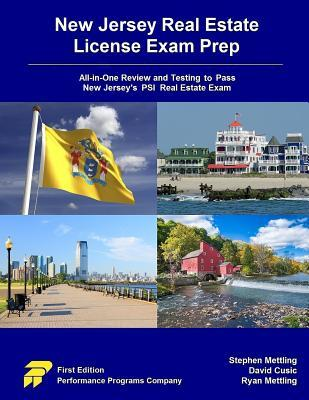 New Jersey Real Estate License Exam Prep All In One Review And Testing To Pass New Jersey S Psi Real Estate Exam By David Cusic