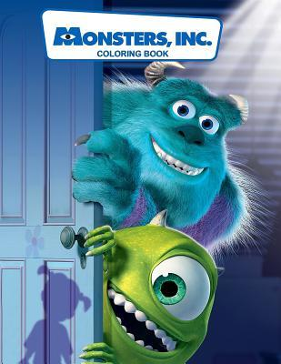 Monsters Inc Coloring Book