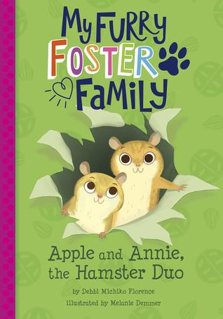 Apple and Annie, the Hamster Duo by Debbi Michiko Florence