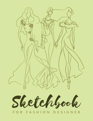 Sketchbook For Fashion Designers Chic Fashion Sketch Book Fashion Designer Sketching Books Fashion Sketchpad Graduation Gift