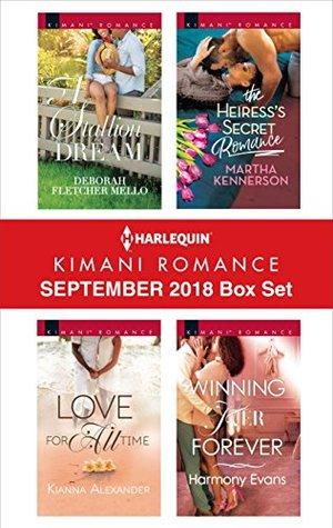 Harlequin Kimani Romance September 2018 Box Set: A Stallion Dream\Love for All Time\The Heiress's Secret Romance\Winning Her Forever