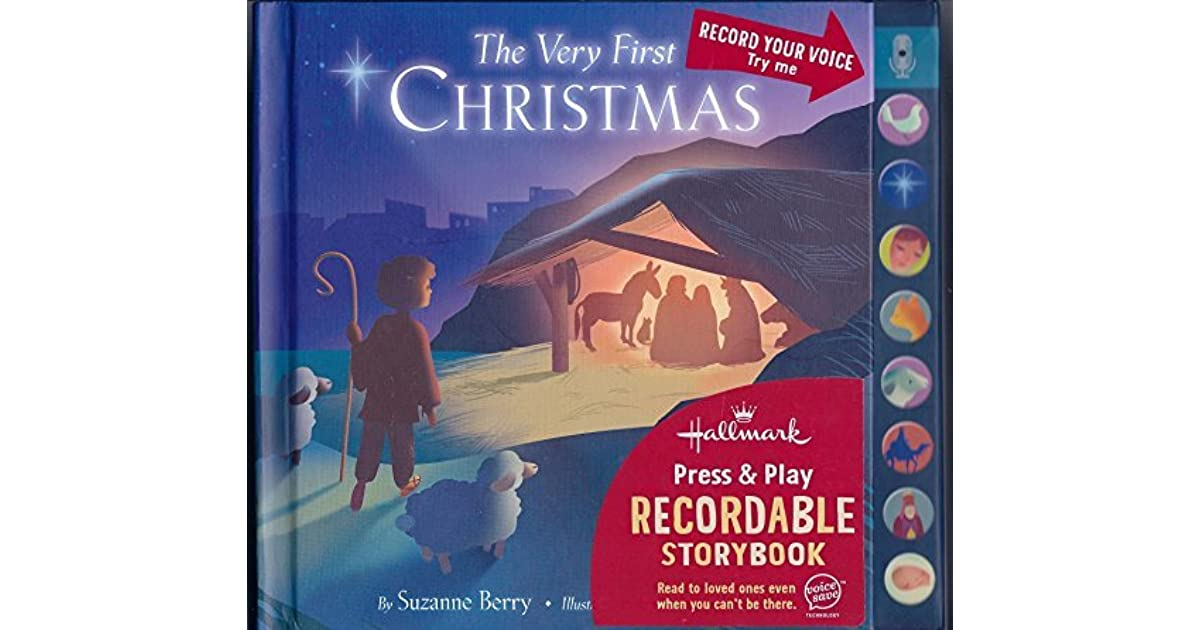 Recordable Christmas Books.The Very First Christmas Hallmark Press Play Recordable