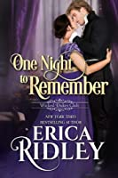 One Night to Remember (Wicked Dukes Club #5)