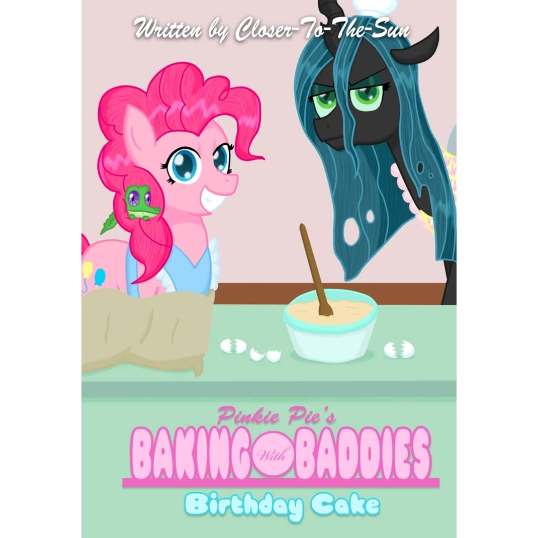 Awesome Pinkie Pies Baking With Baddies Birthday Cake By Closer To The Sun Birthday Cards Printable Benkemecafe Filternl