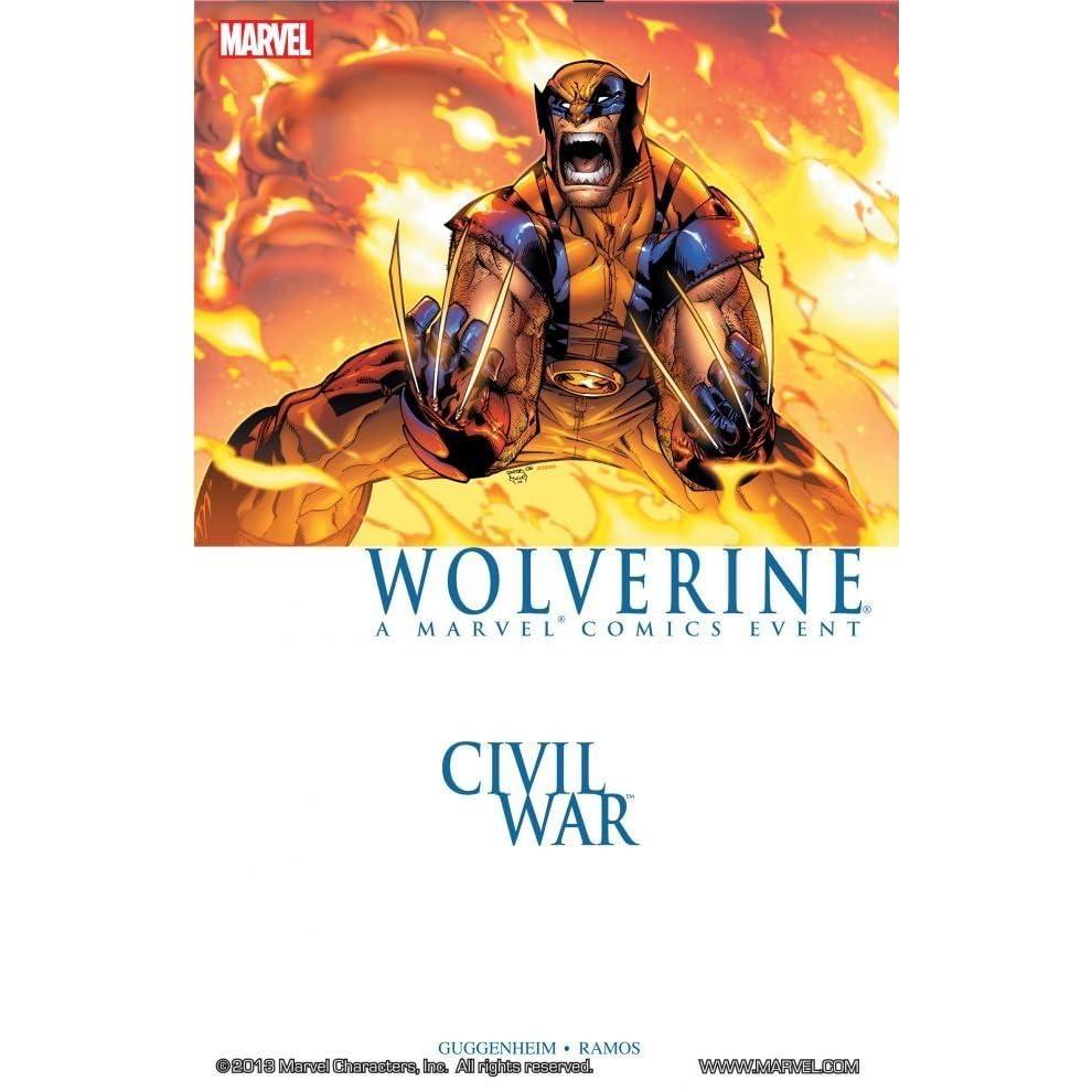 Civil War: Wolverine by Marc Guggenheim