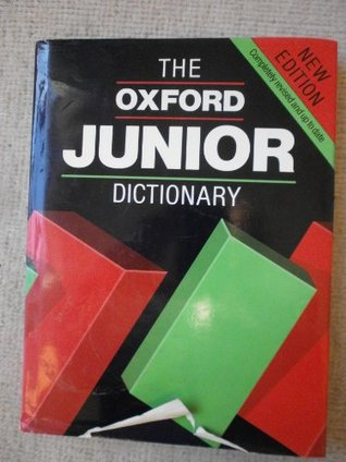 Oxford Junior Illustrated Dictionary 2012 Paperback