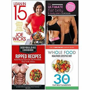 Lean In 15 Shift Plan Ultimate Flat Belly Body Plan Cookbook Bodybuilding Cookbook Ripped Recipes Whole Food Healthier Lifestyle Diet 4 Books Collection Set By Joe Wicks