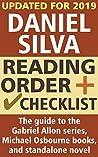 Daniel Silva Reading Order and Checklist: The guide to the Gabriel Allon series, Michael Osbourne books, and standalone novel