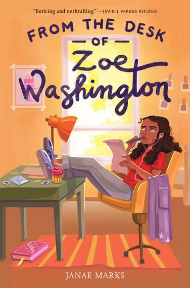 From the Desk of Zoe Washington - Janae Marks