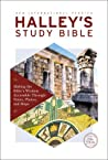NIV, Halley's Study Bible, Hardcover, Red Letter Edition, Comfort Print: Making the Bible's Wisdom Accessible Through Notes, Photos, and Maps