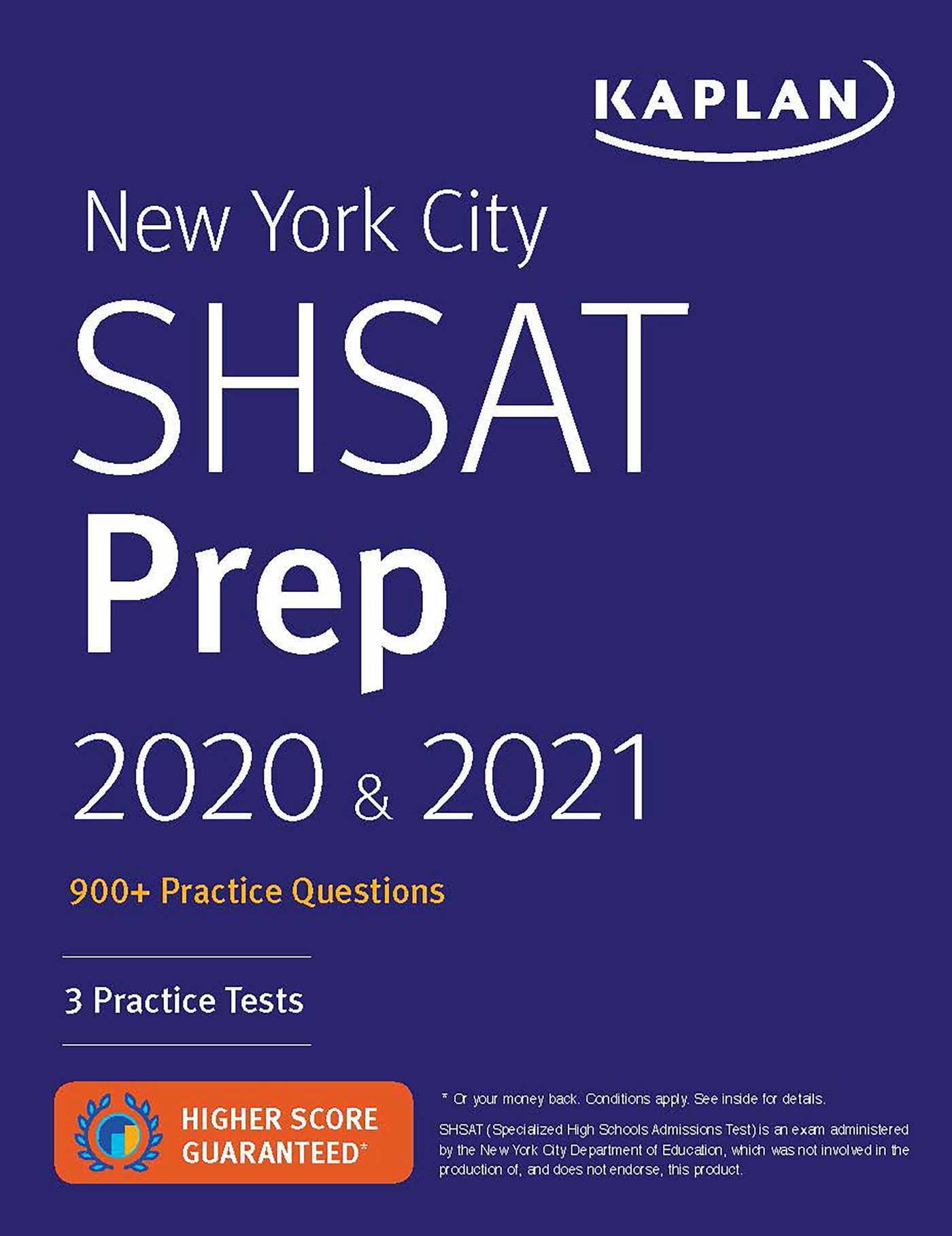 New York City SHSAT Prep 2020   2021 - Kaplan Test Prep UserUpload.Net