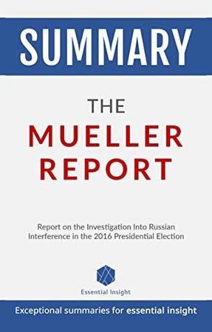 Summary: The Mueller Report