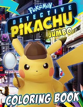 Pokemon Detective Pikachu Coloring Book Excellent Jumbo Coloring