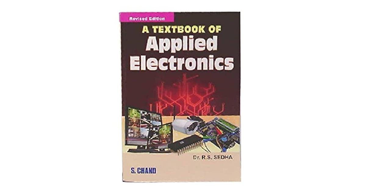 A Textbook Of Applied Electronics By Rs.sedha Pdf