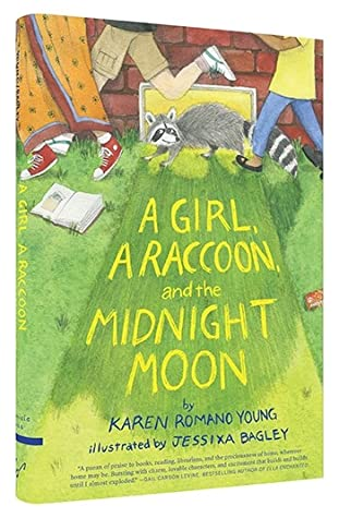A Girl, a Raccoon, and the Midnight Moon