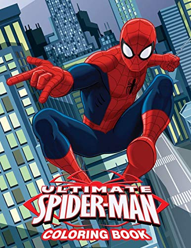 Ultimate Spiderman Coloring Book Coloring Book For Kids And Adults By Linda Desperada