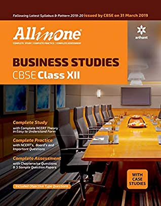 All In One Business Studies CBSE class 12 2019-20