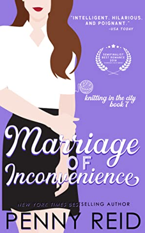 Marriage of Inconvenience (Knitting in the City, #7)