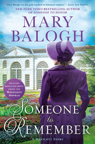 Book Review: Someone to Remember by Mary Balogh