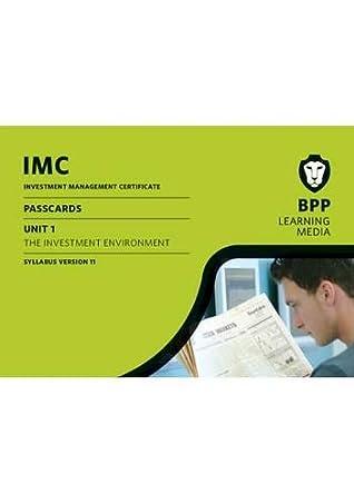 IMC Unit 1 Syllabus Version 11: Syllabus version 11: Passcards