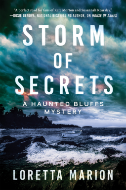 Storm of Secrets (A Haunted Bluffs Mystery #2)