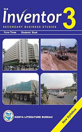 Inventor Secondary Business Studies Form 3 Students' Book Michael K. Nyangah, Worldreader