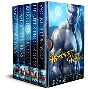 Westmore Wolves Series Books 1-5: A Shapeshifter Paranormal Romance Collection