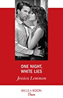 One Night, White Lies (Mills & Boon Desire) (The Bachelor Pact, Book 3)