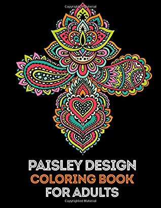 Paisley Coloring Book 35 High Quality Designs For Adults Extra Pages By We Love Mandalas