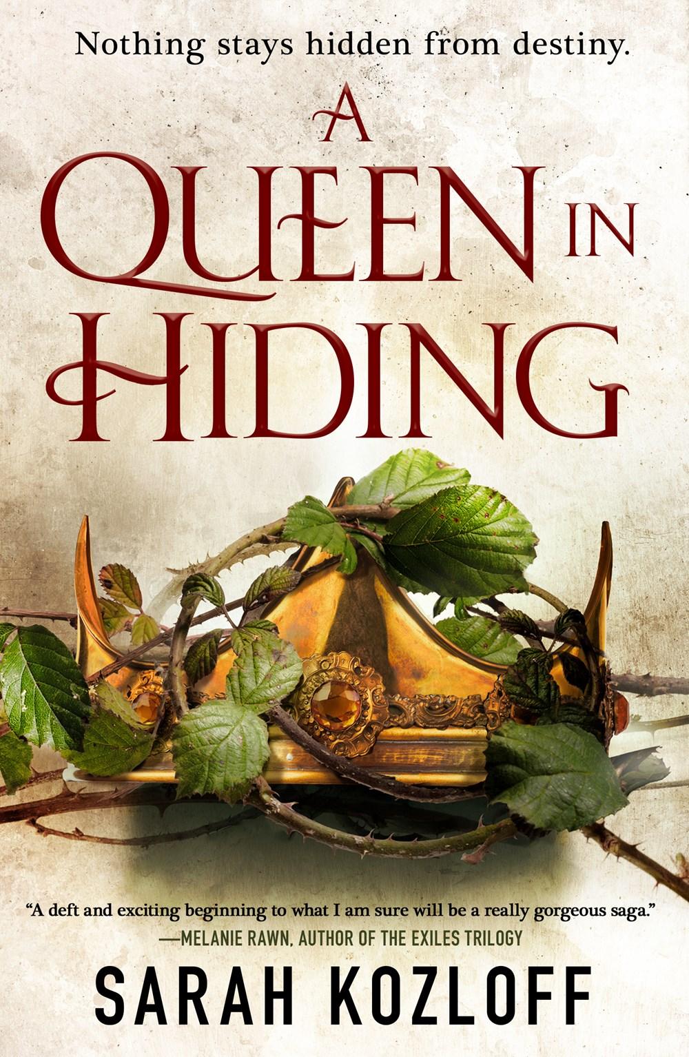 A Queen in Hiding - Sarah Kozloff