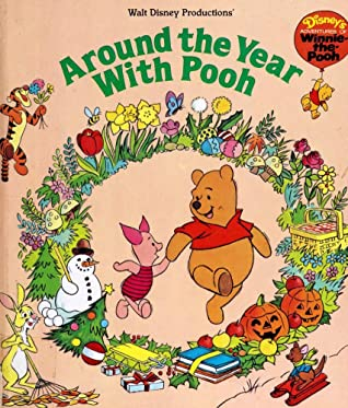 Walt Disney Productions' - Around the Year With Pooh (Disney's Adventures of Winnie-the-Pooh)