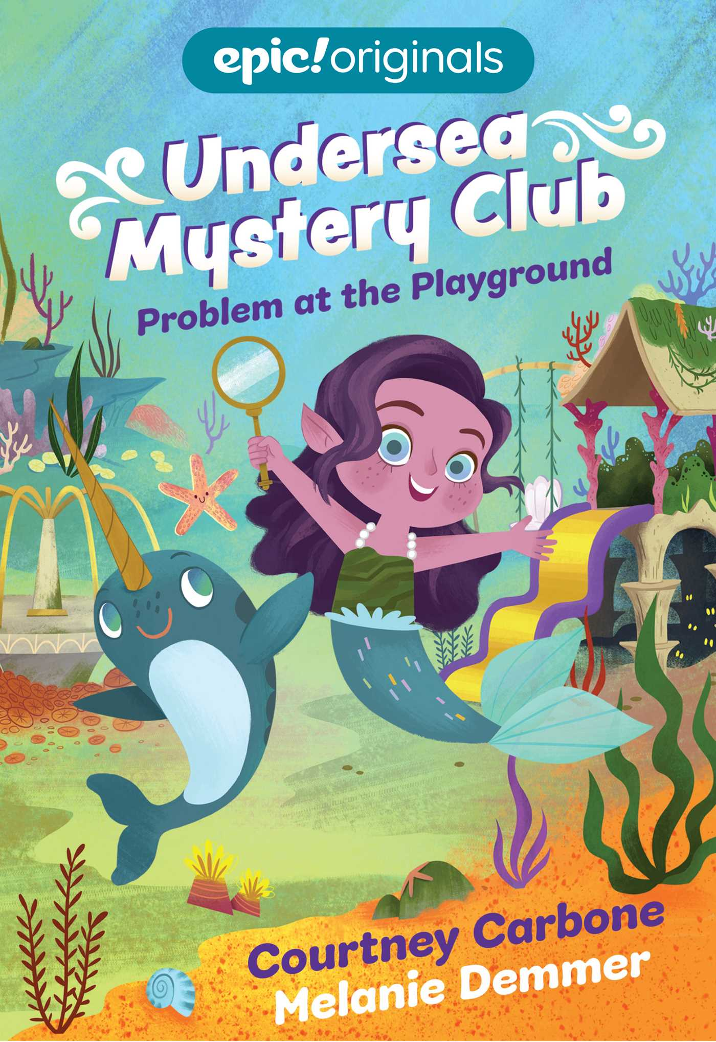 Problem at the Playground (Undersea Mystery Club Book 1)