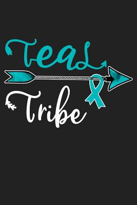 Teal Tribe Ovarian Cancer Awareness 120 Pages Lined Journal By Survivor Clousky
