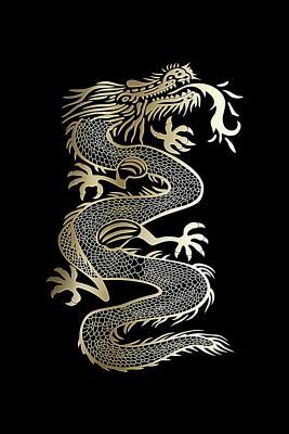 Goldene Chinese Dragon: 120 asistentes reinado asistentes cuaderno a favor de antig�edad Asia China fogatas escupitajo drag�n respiradores -Orientales Jap�n nipona universidad talonario a favor de centro de estudios - ep�stola revista agenda Para reinterp