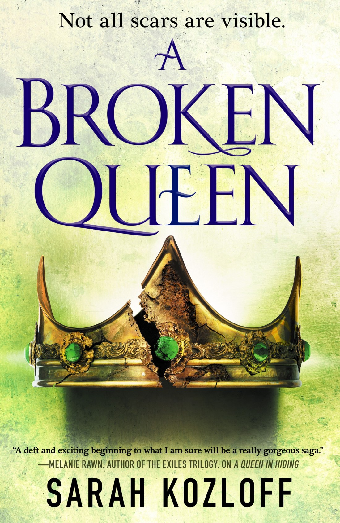 A Broken Queen (The Nine Realms, #3)