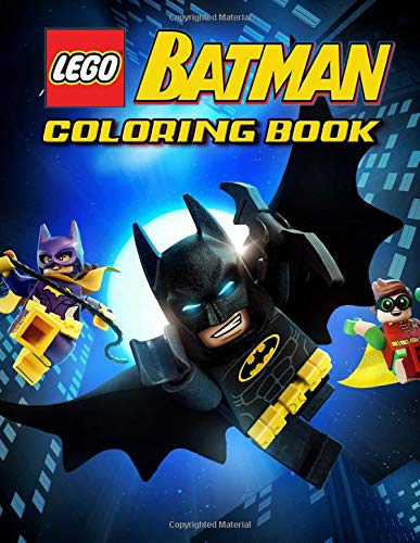 Lego Batman Coloring Book 31 Illustrations Exclusive Book Great Coloring Pages For Kids Ages 2 7 By Goood Books