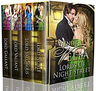 Lords Of Night Street Collection: Books 1-4