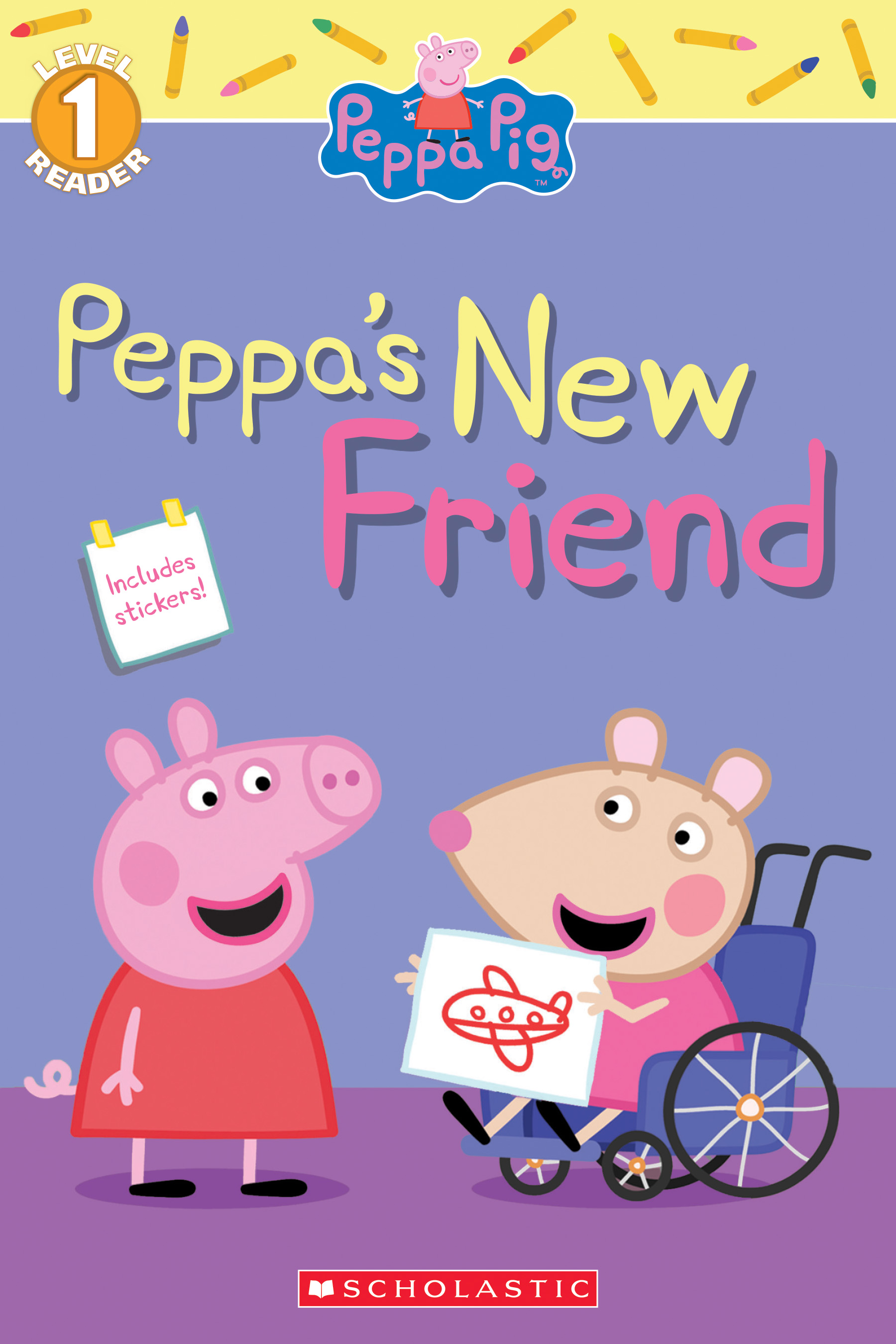 Peppa Pig and Friends Character Sticker Pad