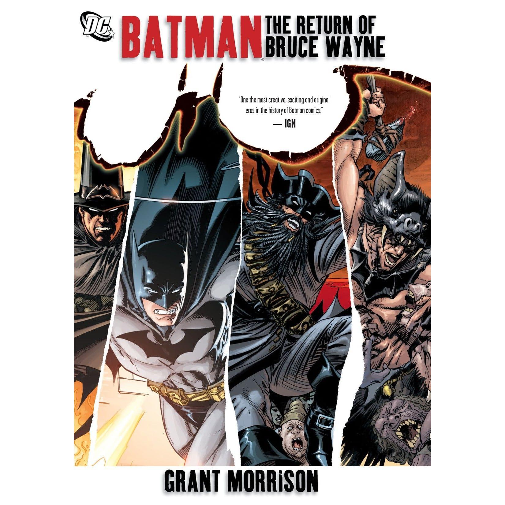Batman: The Return of Bruce Wayne by Grant Morrison