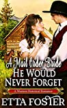 A Mail Order Bride He Would Never Forget