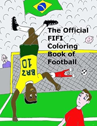 The Official FIFI Coloring Book of Football